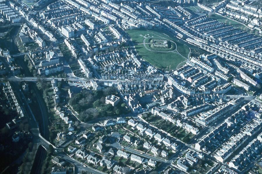 Free Aerial Photographs of Plymouth and area, England