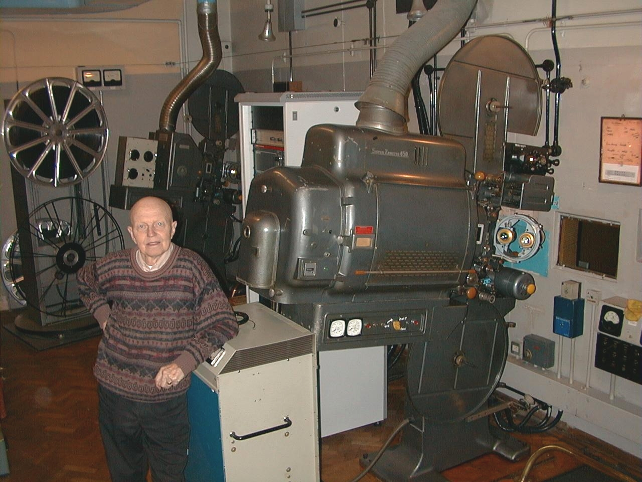 Movie Theater Projector Room