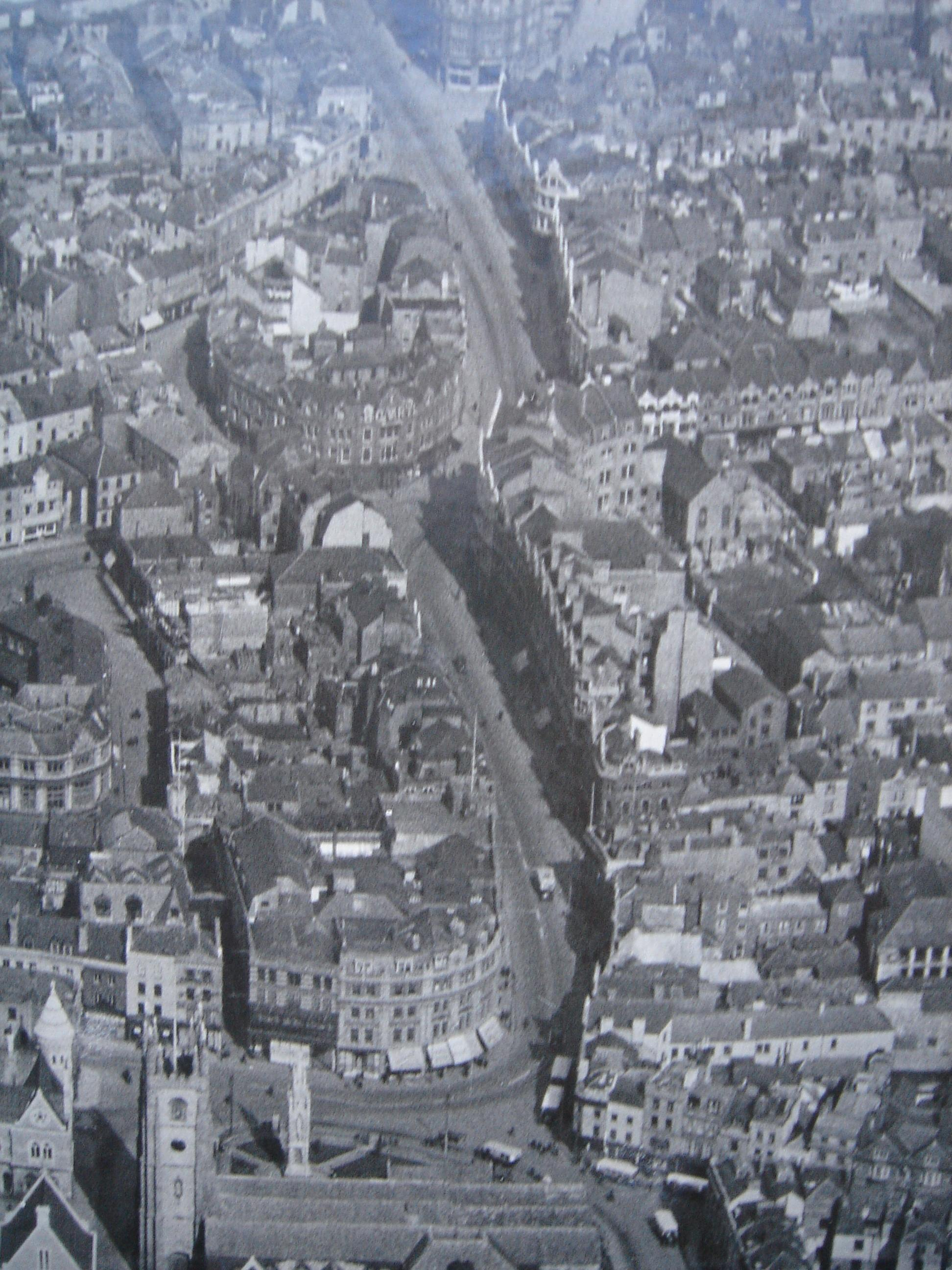 Plymouth Aerials Photos Date Unknown But Must Be Around