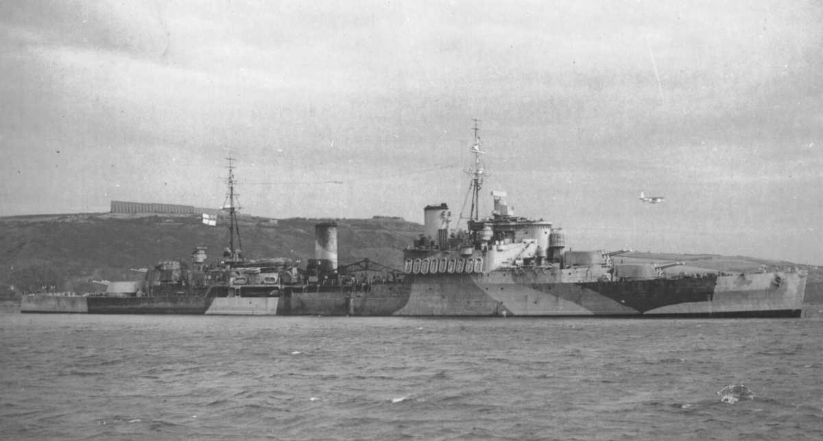 Naval Vessels Of Plymouth Sound In World War Ii